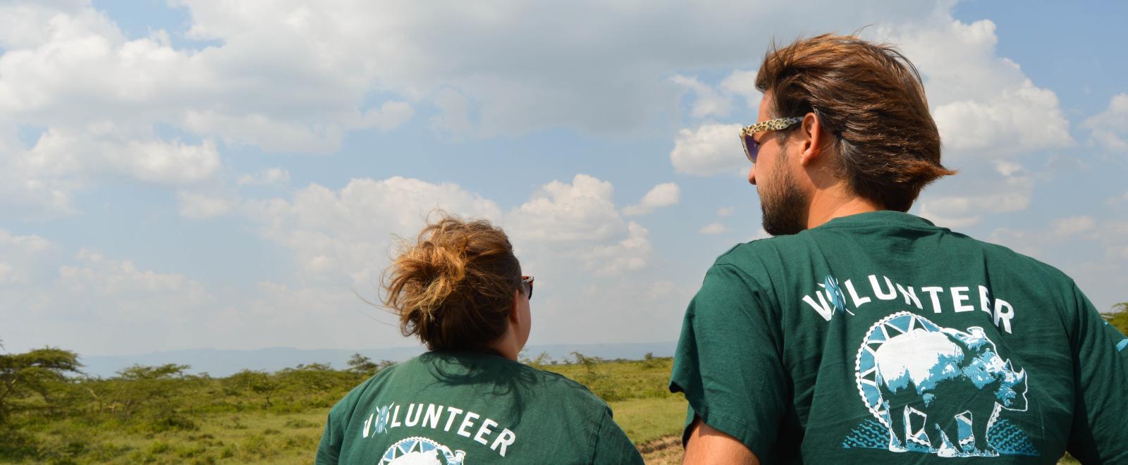 Conservation Volunteers in Kenya